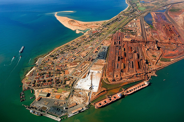 Possible Port Hedland strike 'weighs' heavy on mining giants