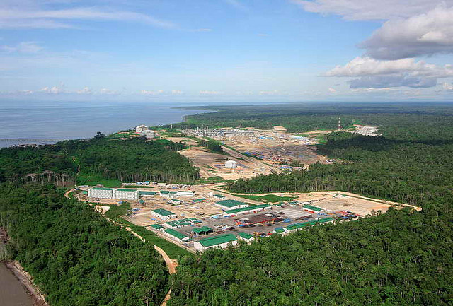 PNG LNG commences production ahead of schedule