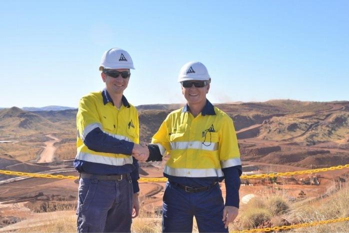 Atlas Iron opens Mt Webber mine in the Pilbara