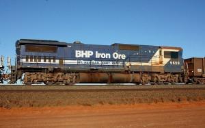 BHP Billiton aiming to overtake arch-rival Rio Tinto in the iron ore contest