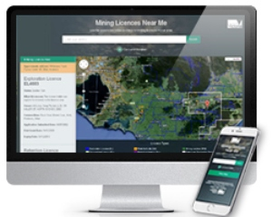 Mining activity easier to find with new web map