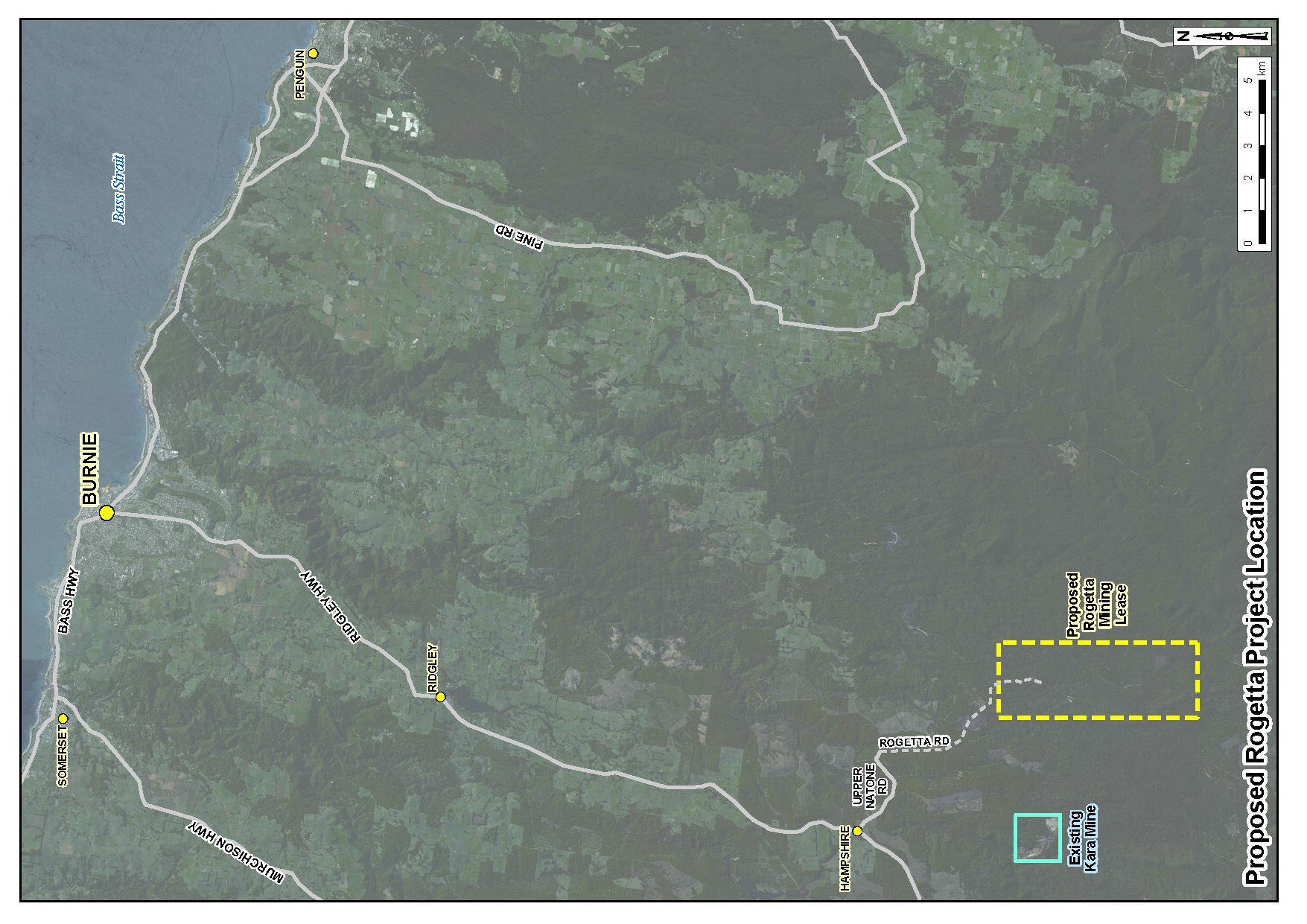 Tasmanian Government greenlights Rogetta Mine lease