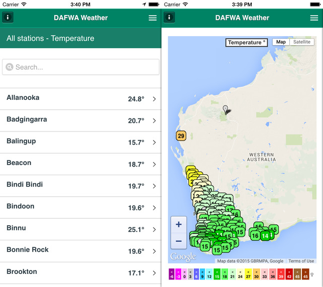 Agriculture Minister Baston launches new weather app for farmers