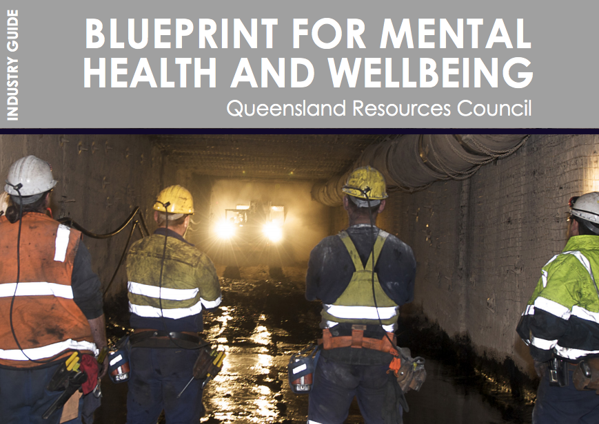 QRC releases new blueprint to address mental health and wellbeing of workers in the resources industry