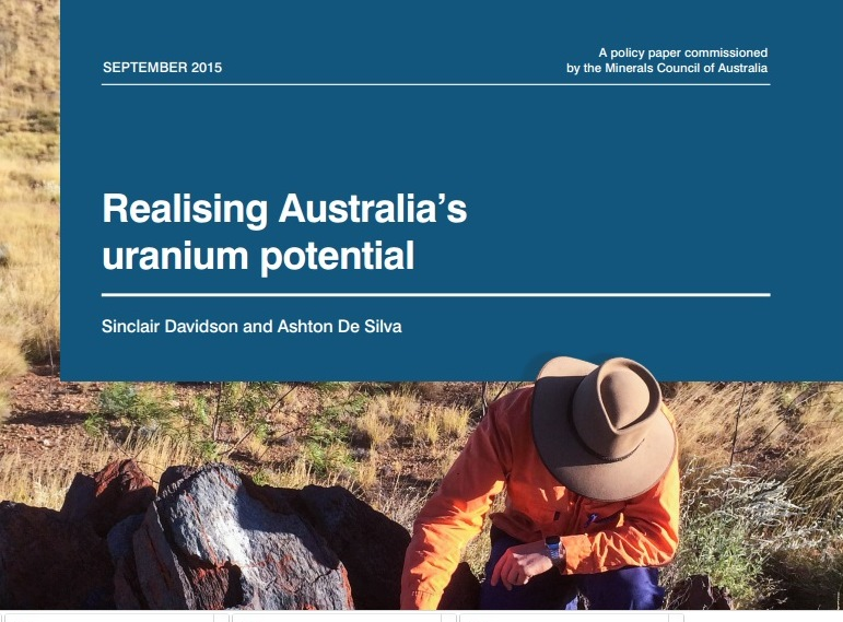 New report reveals Australia could reap major benefits from uranium