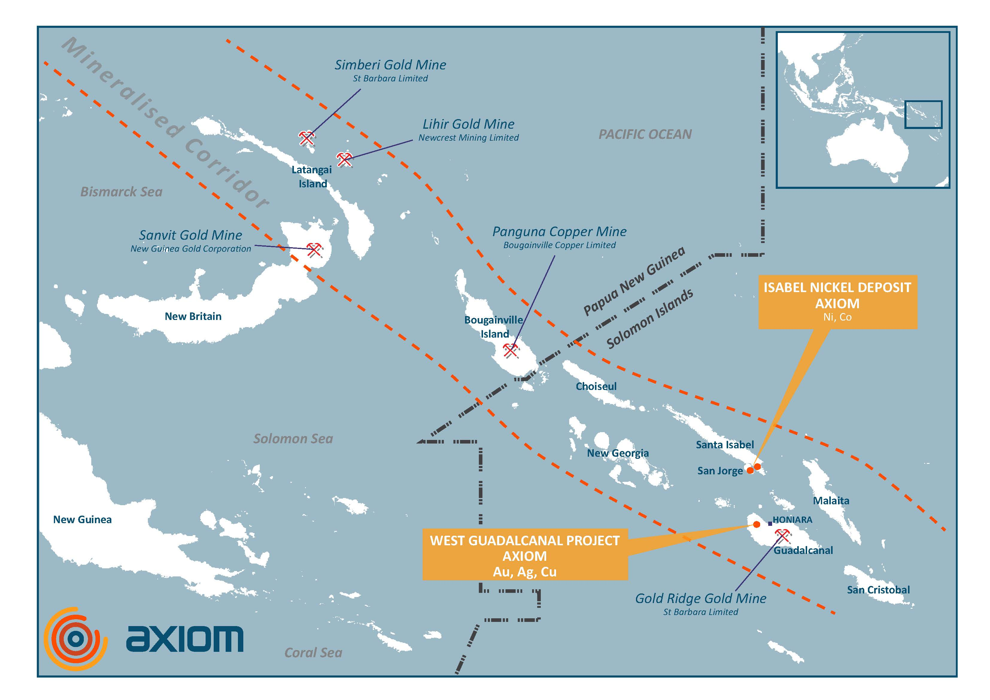 Axiom Mining secures funding for Isabel nickel project