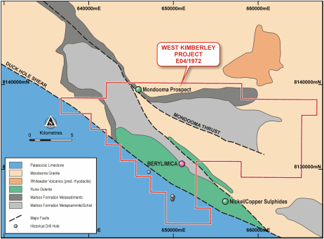 Ram Resources awarded drilling grant for West Kimberley nickel-copper project in WA