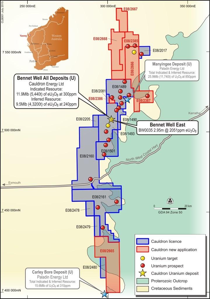 WA State Government validates Bennet Well uranium project