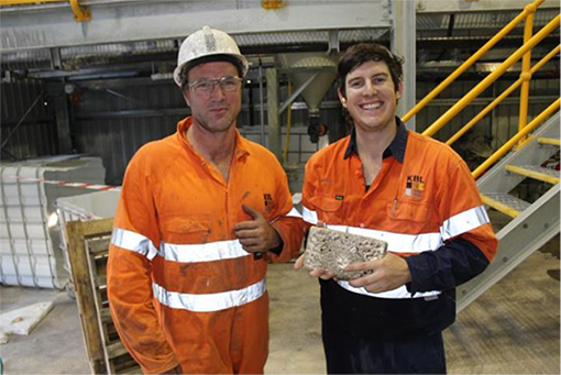 KBL announces first gold pour at Mineral Hill mine