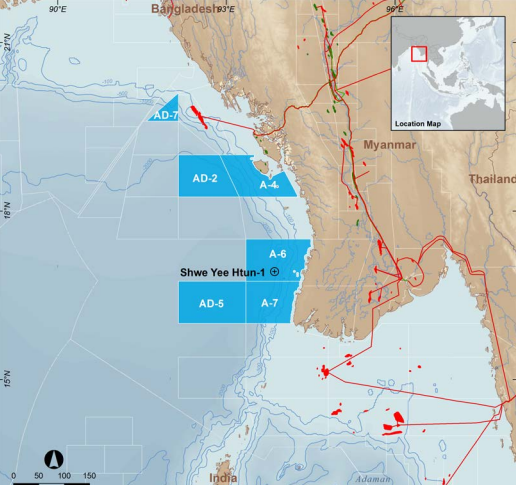 Woodside discovers gas reserve offshore Myanmar