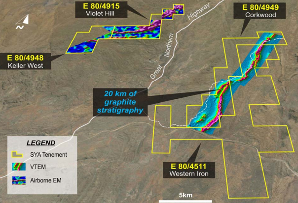 Sayona acquires Western Iron tenement at the Corkwood project