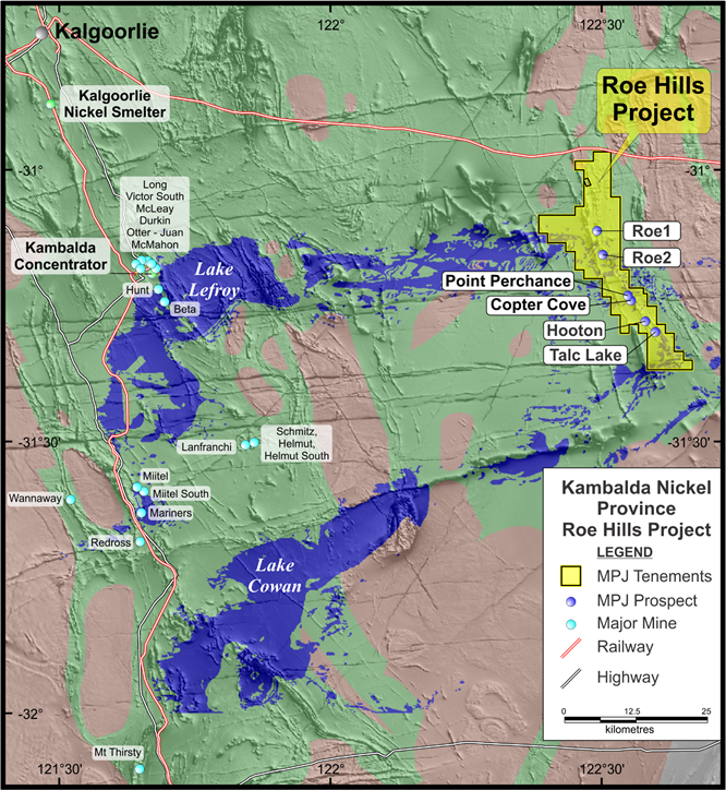 Mining Projects Group commences assessment of gold potential at its Roe Hills Project