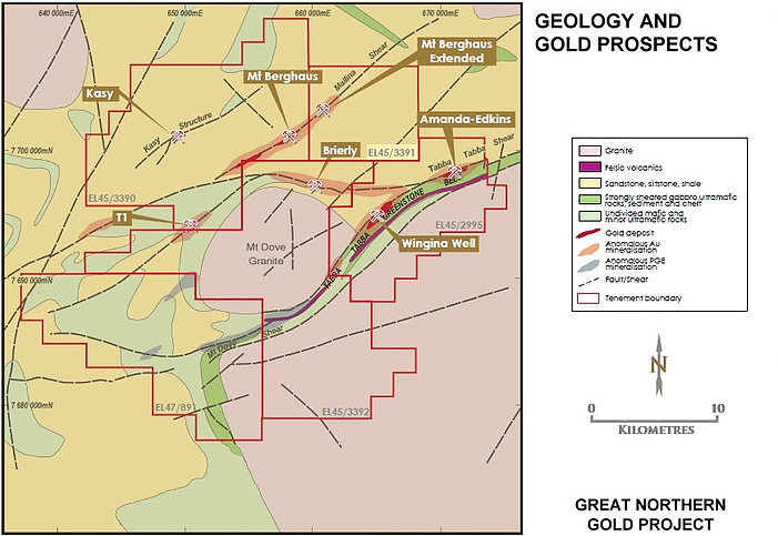 Rugby withdraws from De Grey Mining's Great Northern Gold Project