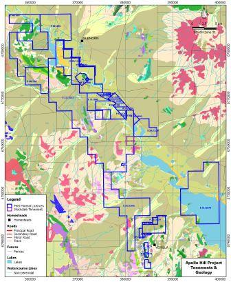 Peel Mining announces commencement of drilling campaign at Apollo Hill Gold Project
