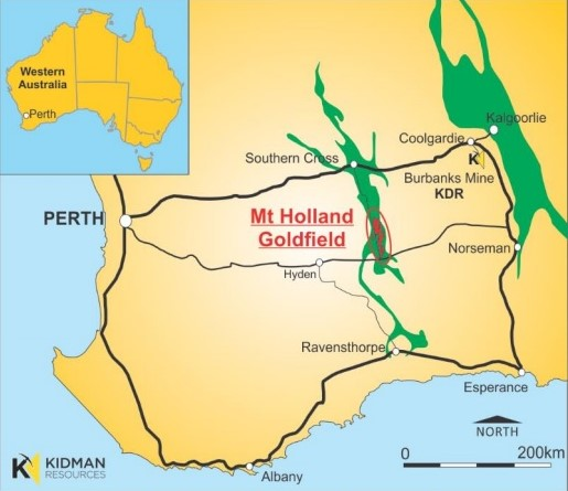 Kidman inks deal to acquire Mt Holland gold field in WA