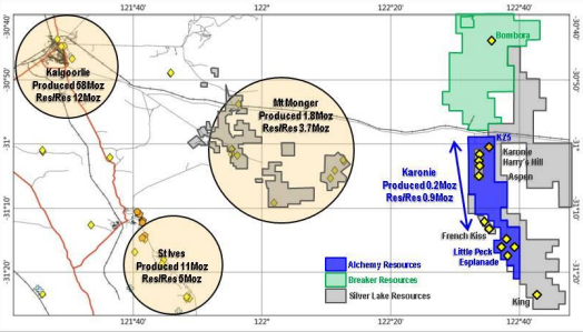 Alchemy Resources acquires Karonie gold project in WA
