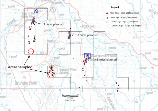 Monax receives Government approvals for maiden Mt Ringwood drilling program