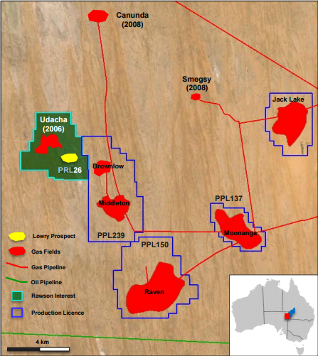 Rawson Resources commences gas production at PRL 26 (Udacha)
