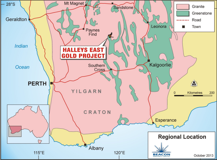 Beacon Minerals sells high grade refractory ore to Northern Star
