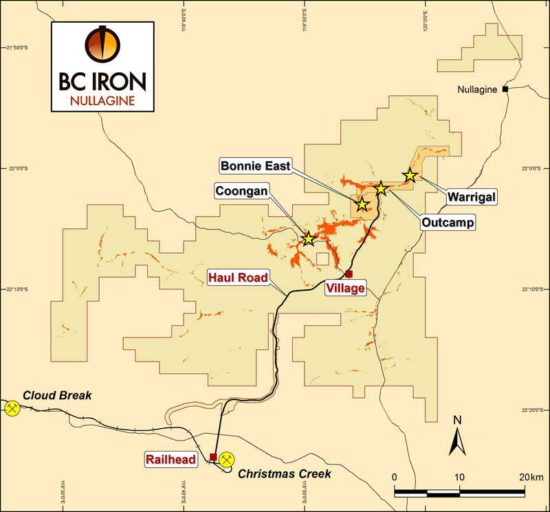BC Iron sells its stake in Nullagine to joint venture partner Fortescue