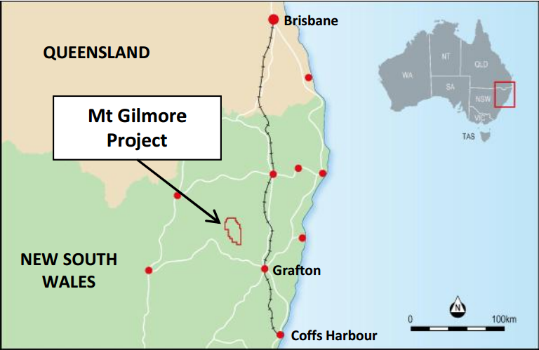 Corazon commences maiden drill program at Mt Gilmore project