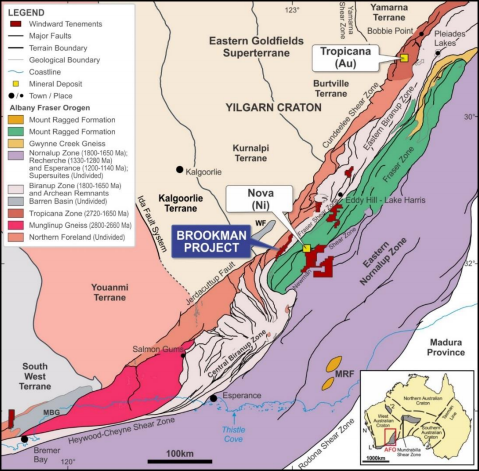 Windward Resources delivers exploration update on its Brookman Gold prospect