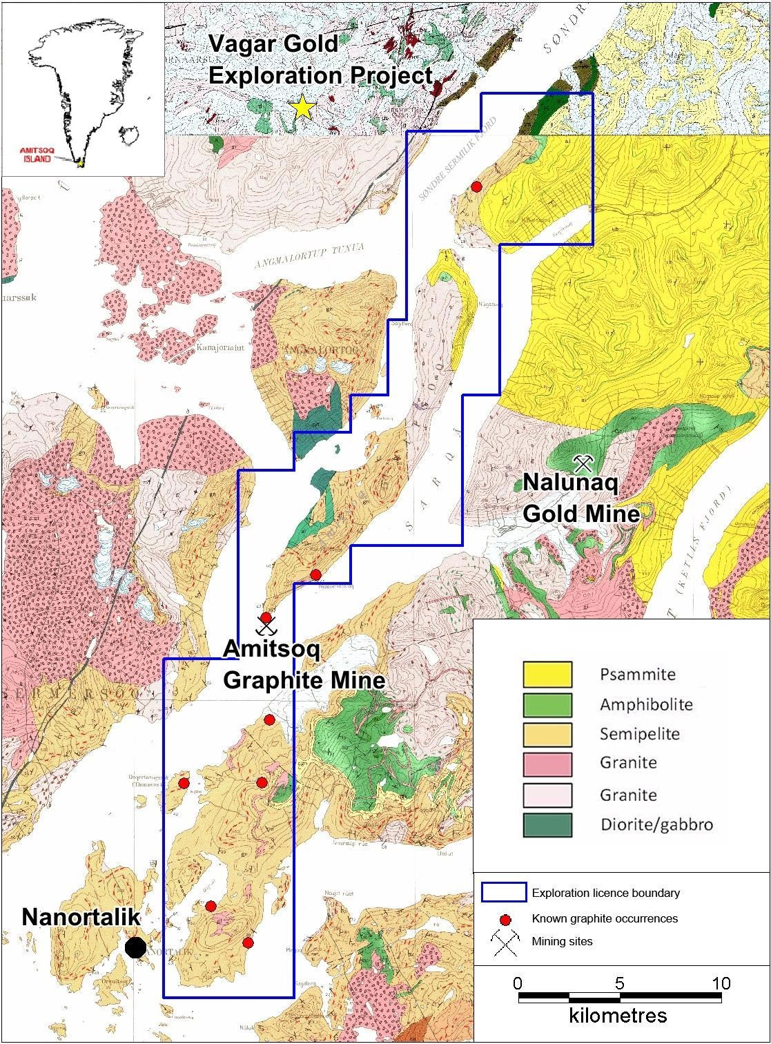 Artemis sells interest in Amitsoq graphite project to fund WA exploration ventures
