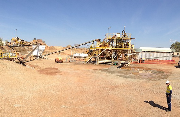 Update on operations at the Merlin diamond mine
