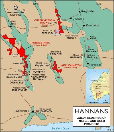 Hannans announces core drilling and geophysical surveys at Spargos prospect
