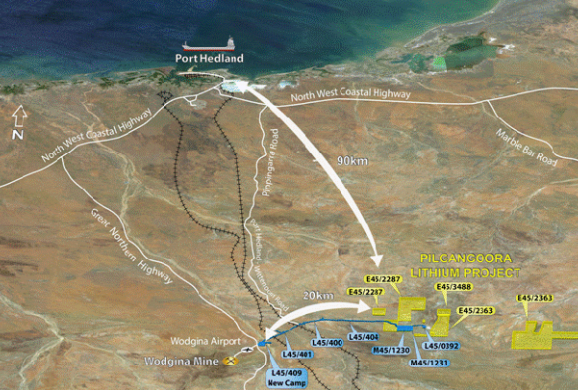 DMP approves Altura's mining proposal for the Pilgangoora Project