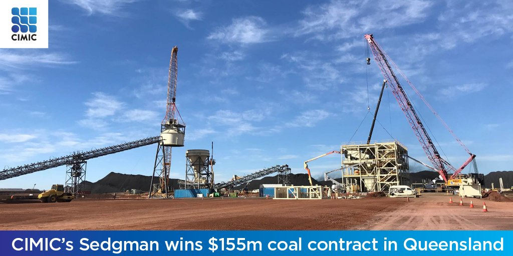 Sedgman wins $155m EPC contract from QCoal Group